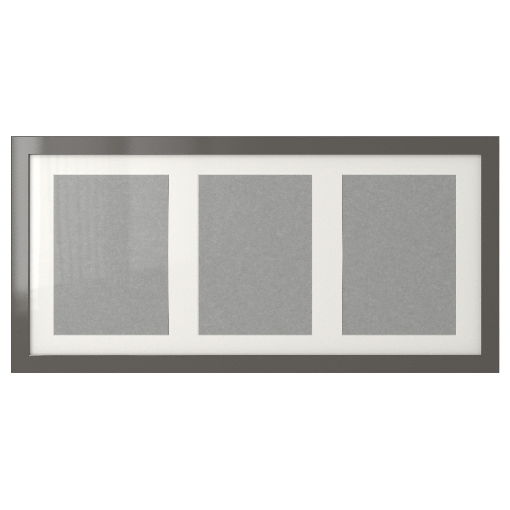 RIBBA Frame - high gloss/gray - IKEA | New Midtown Pad | Pinterest ...