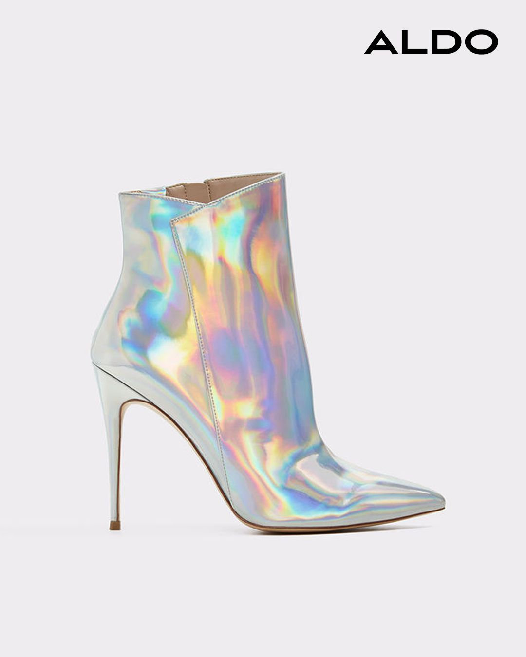 e49c955ddafb Shine and slay through party season   beyond in iridescent heel boot  Merealonna.  Aldo  boots  stiletto  iridescent  shine  slay