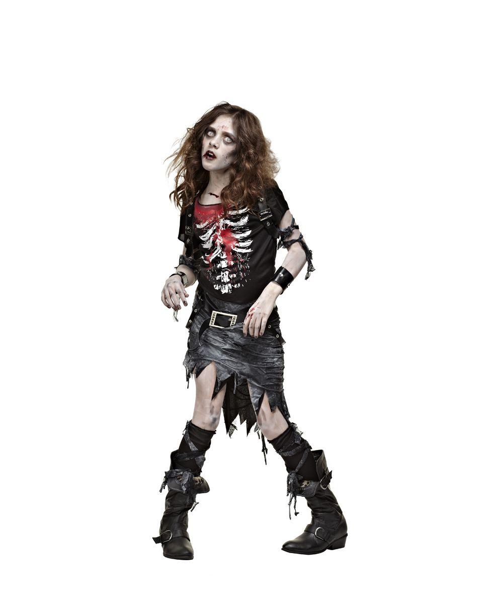 de812adcf9d Undead Goth Girl Child Costume – Spirit Halloween | The Walking Dead ...