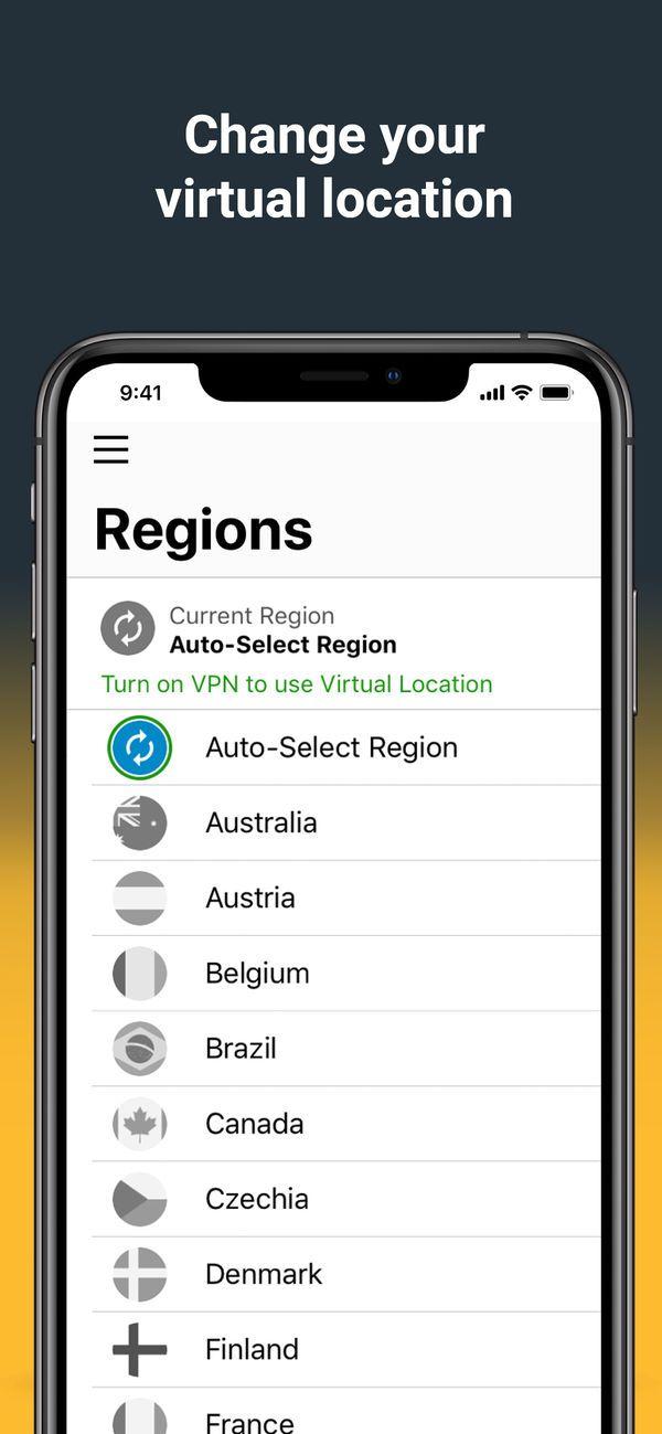 Norton Secure VPN on the App Store App