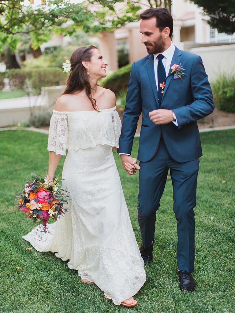 This sweet wedding dress detail is trending for pinterest