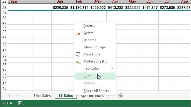 16++ Excel worksheet tabs Top