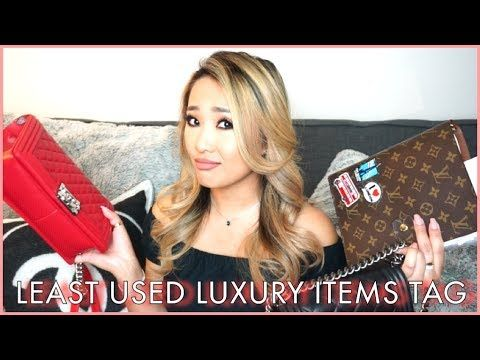 MY 5 LEAST USED LUXURY GOODS TAG 2.0 - SHOPPING REGRETS? | hollyannaeree - YouTube