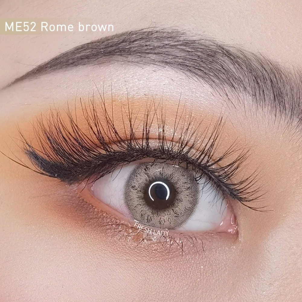 Rome Brown Contact Lenses Me52 Grey Contacts Contact Lenses Colored Brown And Grey