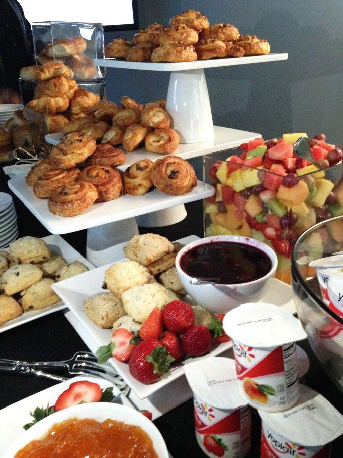 Meet Sprout by HP Breakfast catering, Breakfast buffet