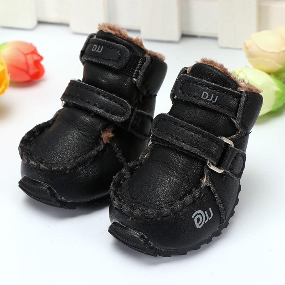 Pure Color Pet Dog Shoes Dog Boots Fall