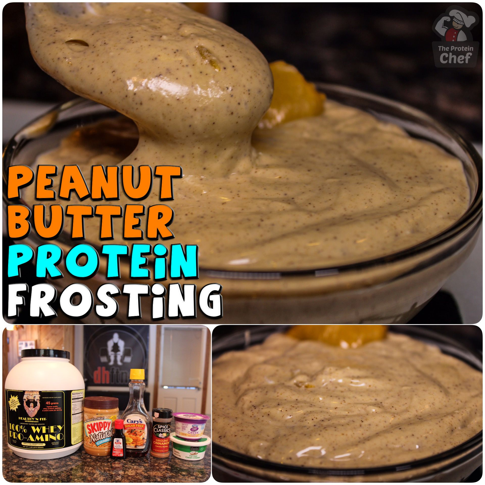 Peanut Butter Protein Frosting