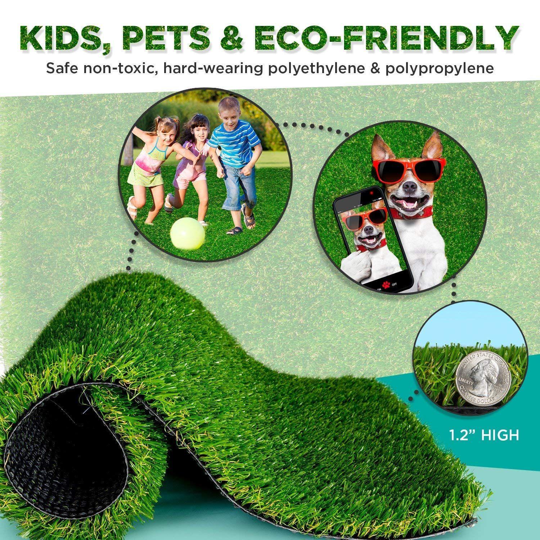 Golf Party >> SavvyGrow Artificial Grass Dogs AstroturfRug