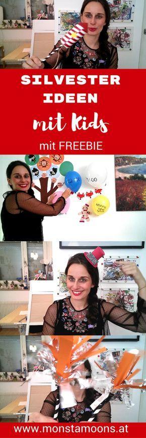Einfache Partyideen für Silvester mit Kids
