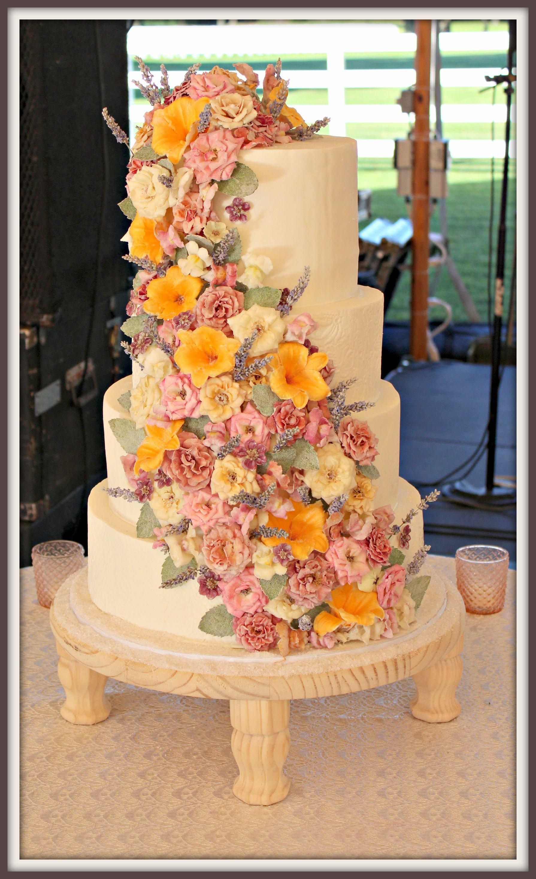 edible flowers for cakes waitrose