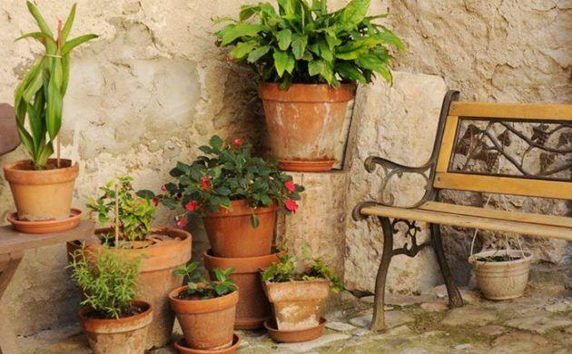 Mediterrane Gartengestaltung Gartendeko Im Mediterranen Stil