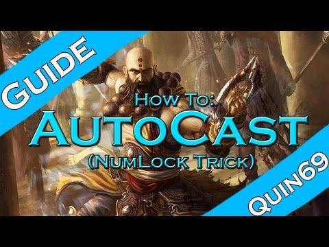 Diablo 3 Ros How To Autocast Skills Num Lock Youtube