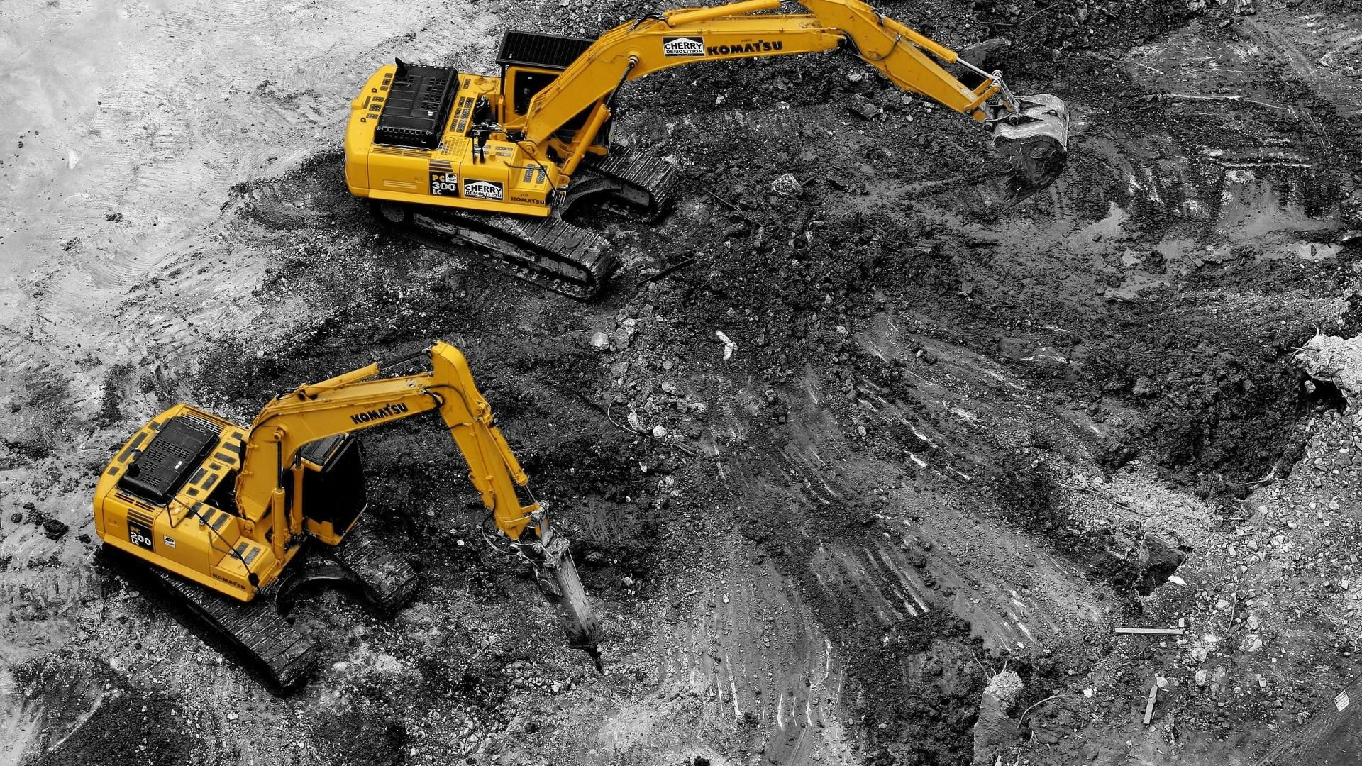 8 Excavator HD Wallpapers | Backgrounds - Wallpaper Abyss