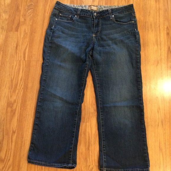 Paige denim Capri denim jeans. Size 30 Cute Paige jeans Capri. Size 30 Paige Jeans Jeans Ankle & Cropped