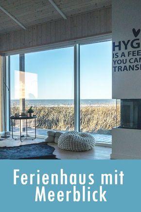 Dinamarca: Casa de vacaciones con vistas al mar para 8 + 2 perros en el Mar del Norte #ferienhaus …