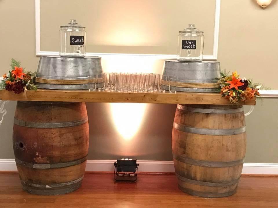 Wine barrel bar Wine barrel bar, Barrel bar, Wine barrel
