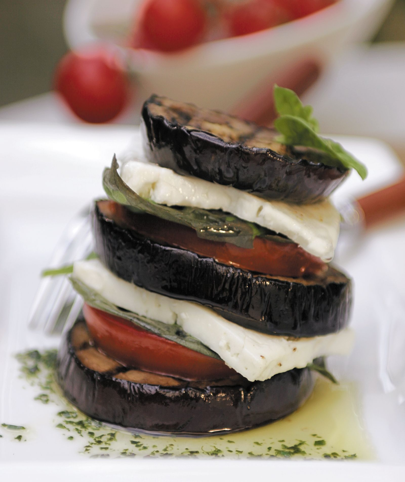 Grilled eggplant feta terrines greek food greek cooking greek grilled eggplant feta terrines greek food greek cooking greek recipes by diane forumfinder Image collections