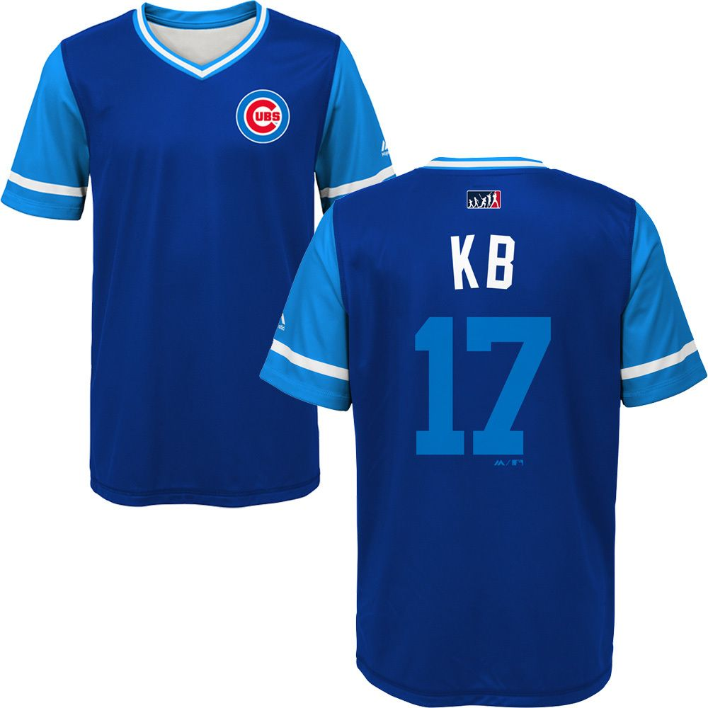 timeless design 06c39 d2d15 Kris Bryant Chicago Cubs 2018 Players Weekend Youth ...