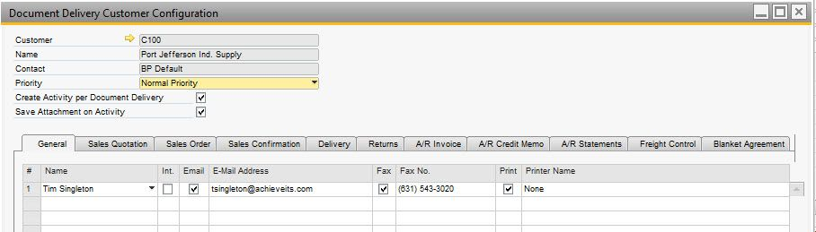 Email Templates  Achieve One Document Delivery  Sap B