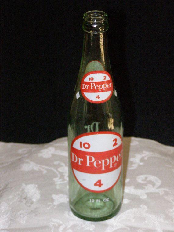 Bottles 4 dr pepper 2 old 10 DR PEPPER