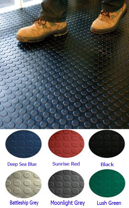 Elegant Rubber Mat Flooring for Basement