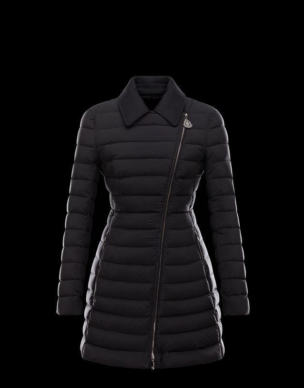 20cf9ae513a1 Moncler Noues Women Doudoune Elastique Broadcloth Collar Coat Hot Sale