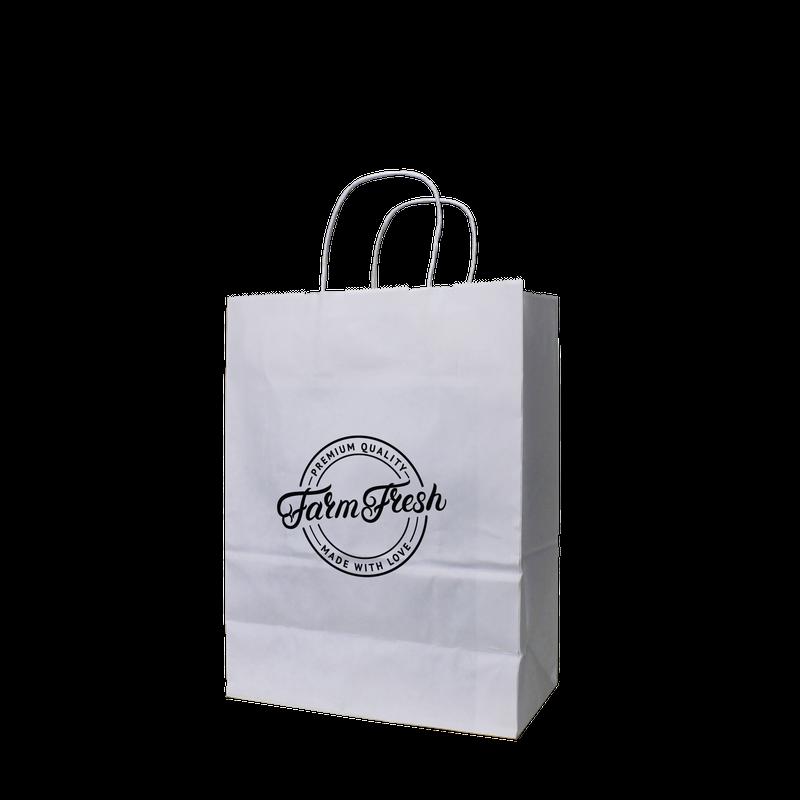 Small White Paper Shopper Bag Paper Bags Holden Bags Shopper Bag Bags Paper Shopping Bag