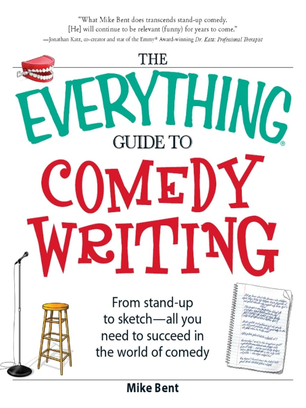 The Everything Guide To Comedy Writing Ebook Comedy Scripts