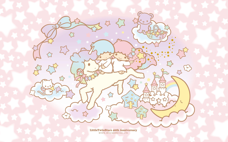 リトルツインスターズ メモリアルデザイン壁紙プレゼント 12 Http Www Sanrio Co Jp News Ts Wallpaper ハローキティの壁紙 カワイイ壁紙 リトルツインスターズ