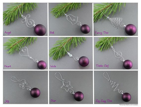 Stop using paper clips to hang the ornaments on your tree and add