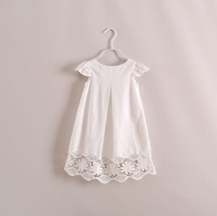 Girl Summer dress 2014 Toddler Kids Embroidery Cotton Casual Dress ...