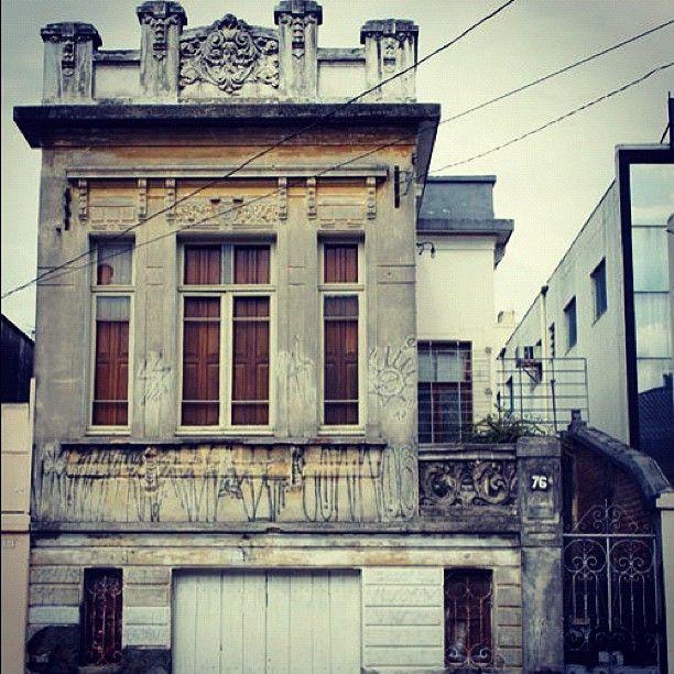 Old house at Lopes Trovao Street, Sao Paulo - Brazil.