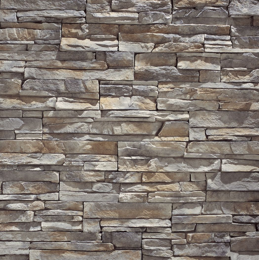 Eldorado Stone Stacked Stone Fireplace Mantels