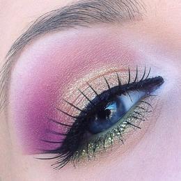 Wow! Mooie kleur inspiratie voor blauwe ogen.