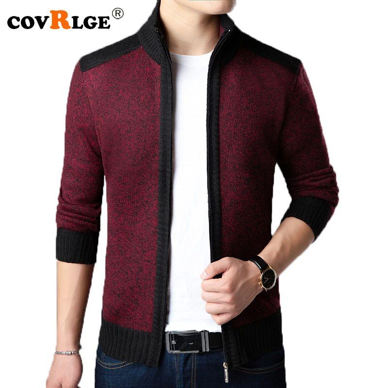 Covrlge 2018 Men's Sweaters Autumn Winter Warm Cashmere Wool