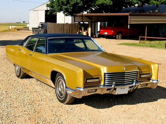 1971 Lincoln Continental Golden Anniversary Town Car Edition