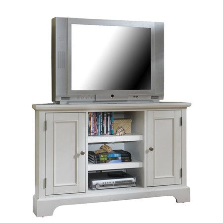 Found It At Wayfair Bedford 50 Corner Tv Stand In White Corner Tv Stand Corner Tv Corner Tv Stands Corner tv stands for 50 inch tv