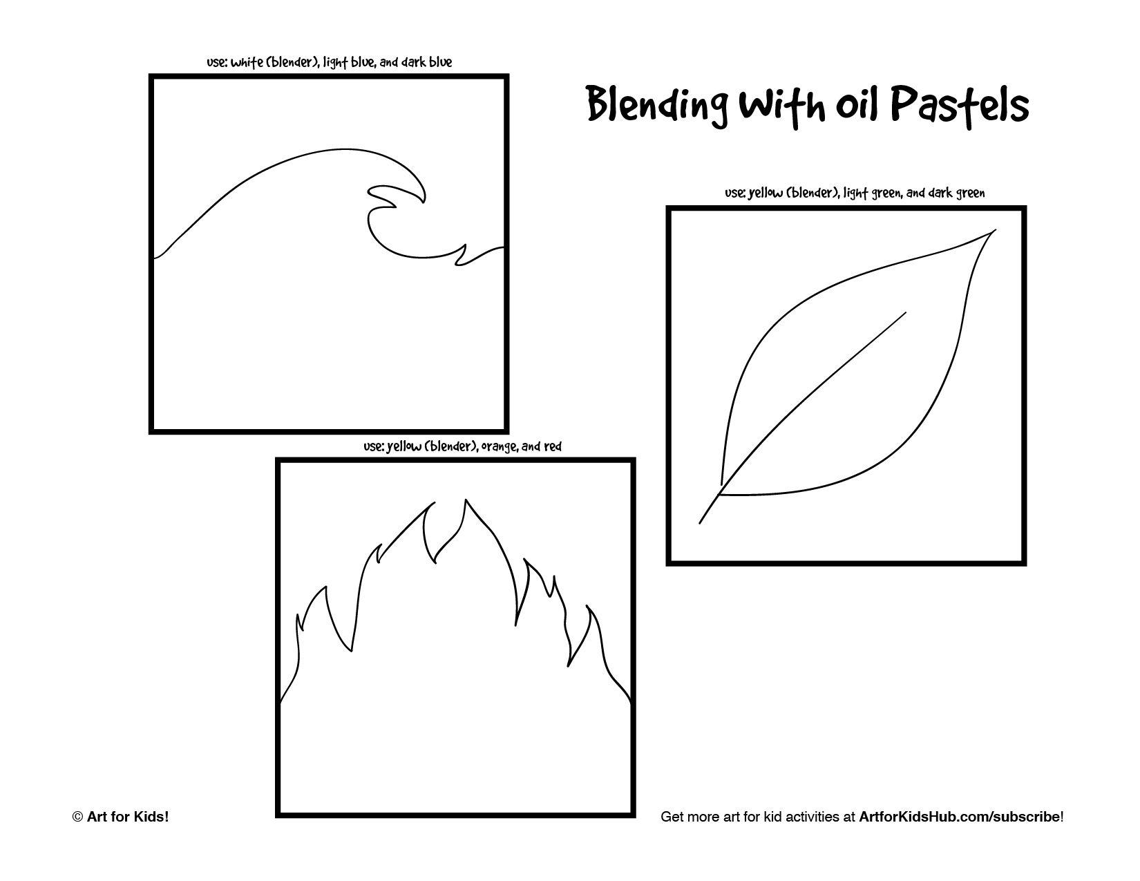 Color theory worksheet for kids - Art Worksheets