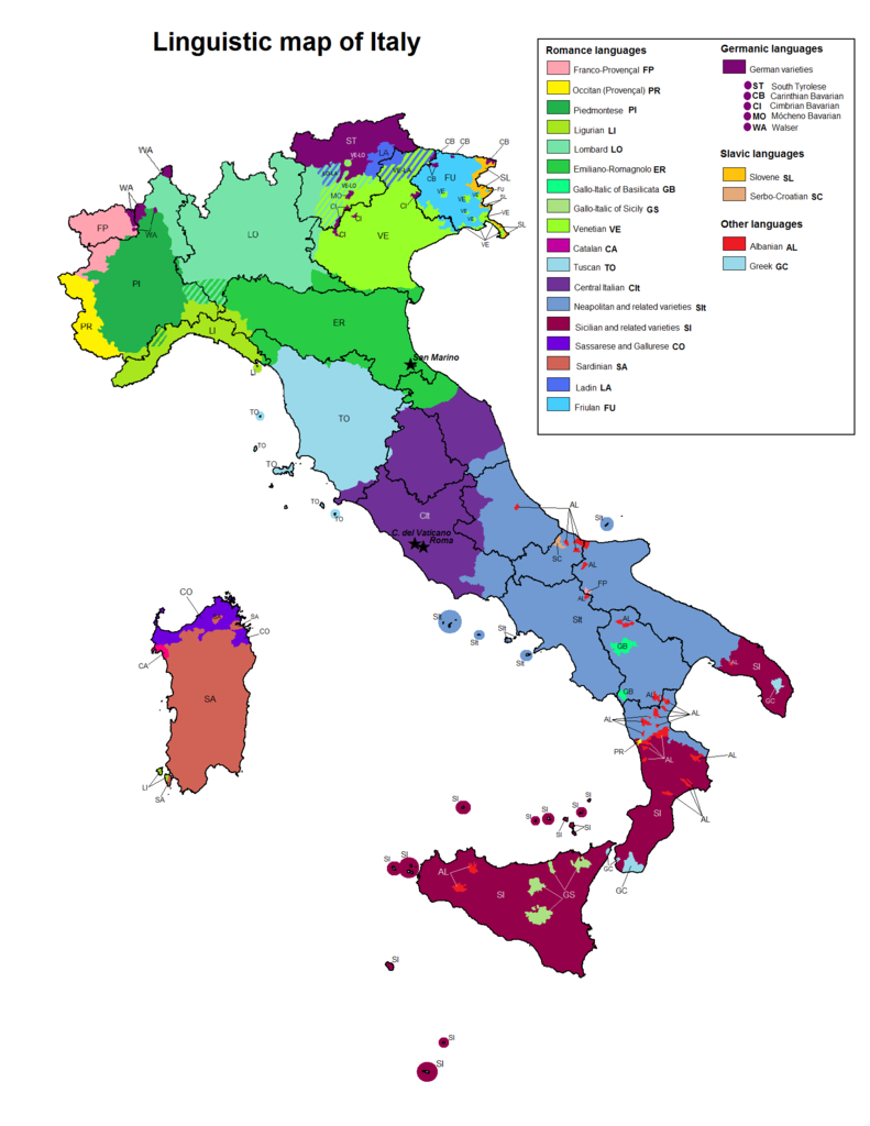 Backng Italy on a Budget - Maps, Itineraries, and Things To Do ... on