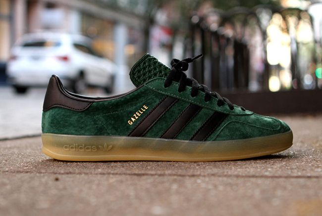 adidas Gazelle Indoor | Dark Green
