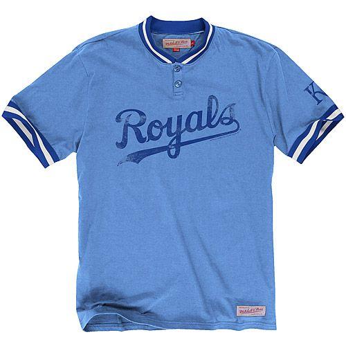 Kansas City Royals Game Ball Henley Shop