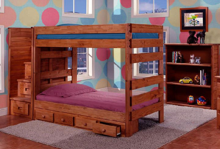 Awesome XL twin bunk beds avail DUKE TWIN OVER TWIN STAIRWAY BUNK BEDS solid pine stained Model - Best of solid bunk beds Simple Elegant