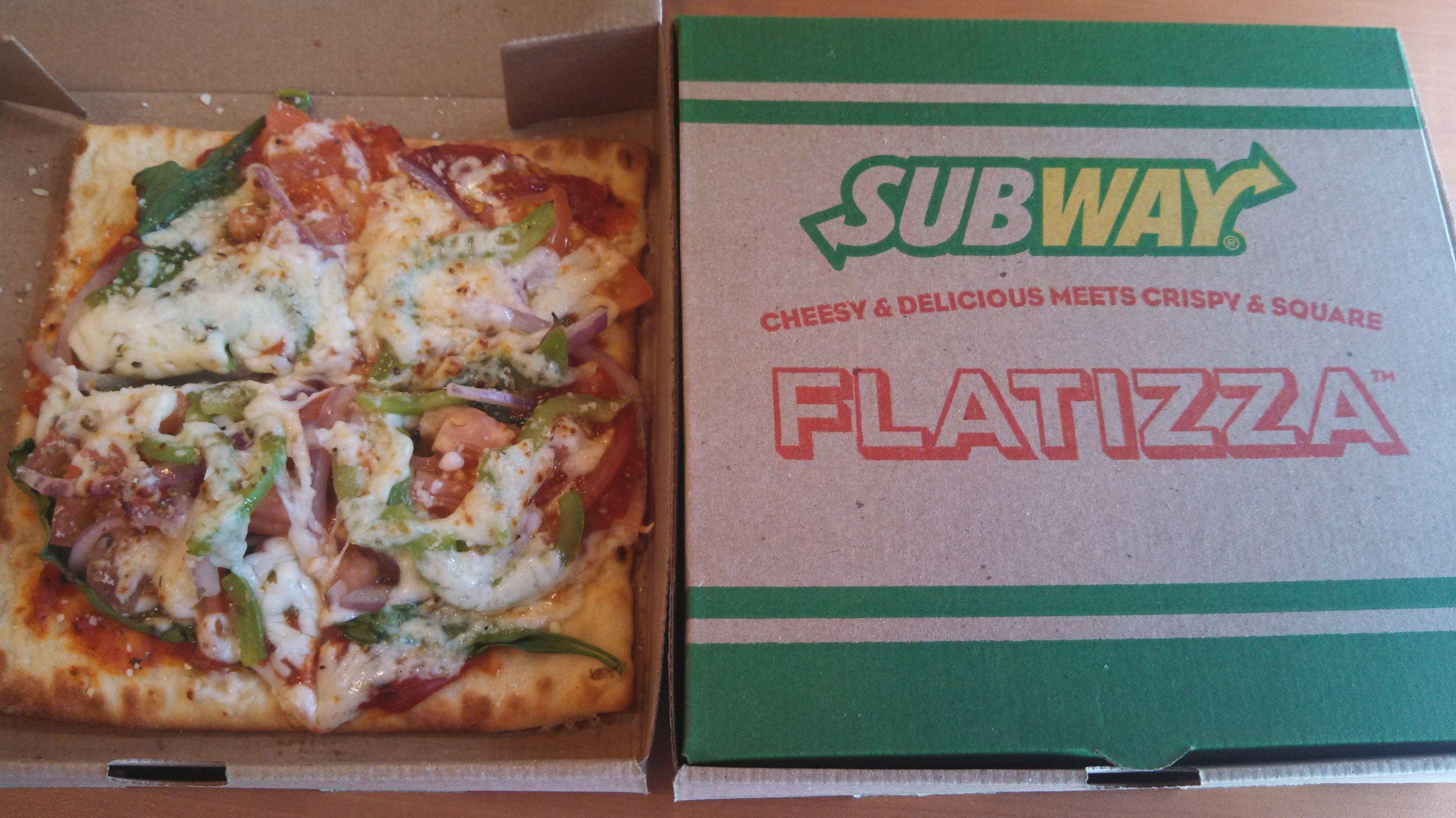 subway veggie flatizza frank s food fascination pinterest food