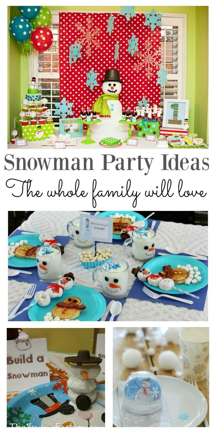 Snowman for the whole family