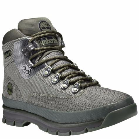 Timberland Men S Jacquard Euro Hiker Boots Forest Green A1a8a768 A1a8a 11 5 Boots Mens Boots Casual Timberland Mens