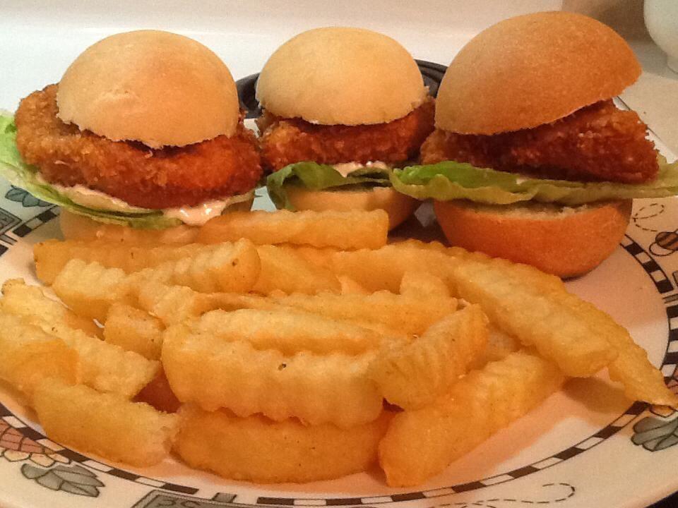 Chef Shawn's Chicken Burger Sliders