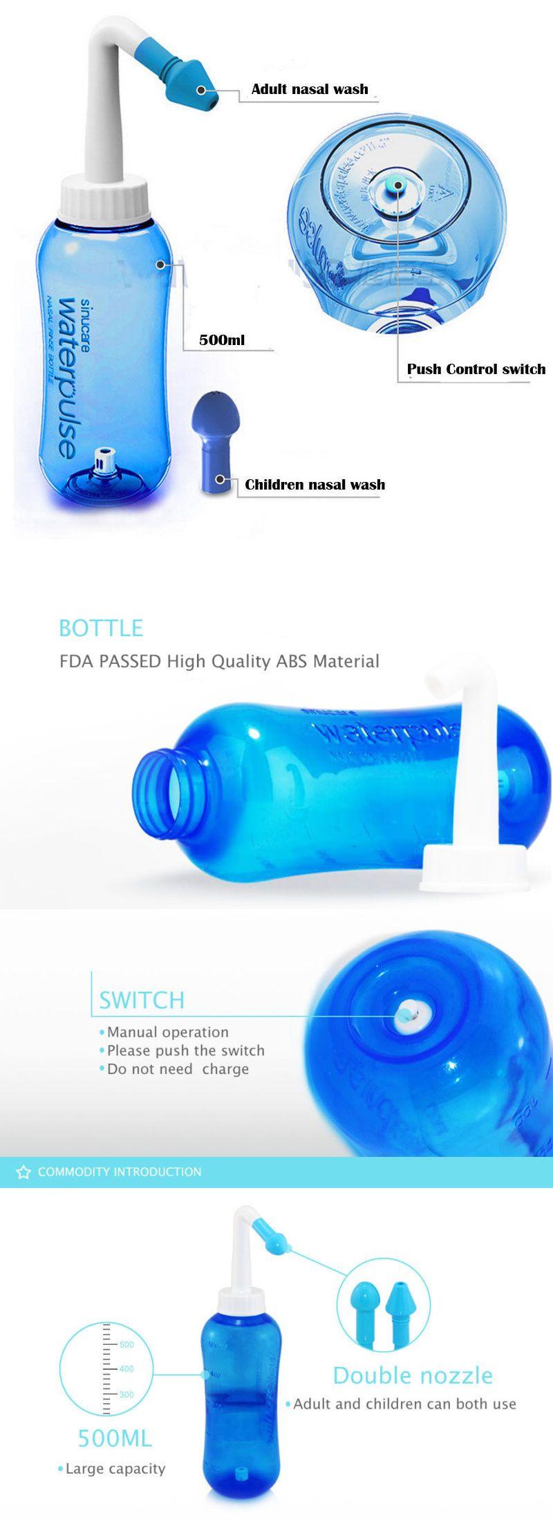 Neti Pots and Cleansers 159882 Nasal Pressure Rinse Neti