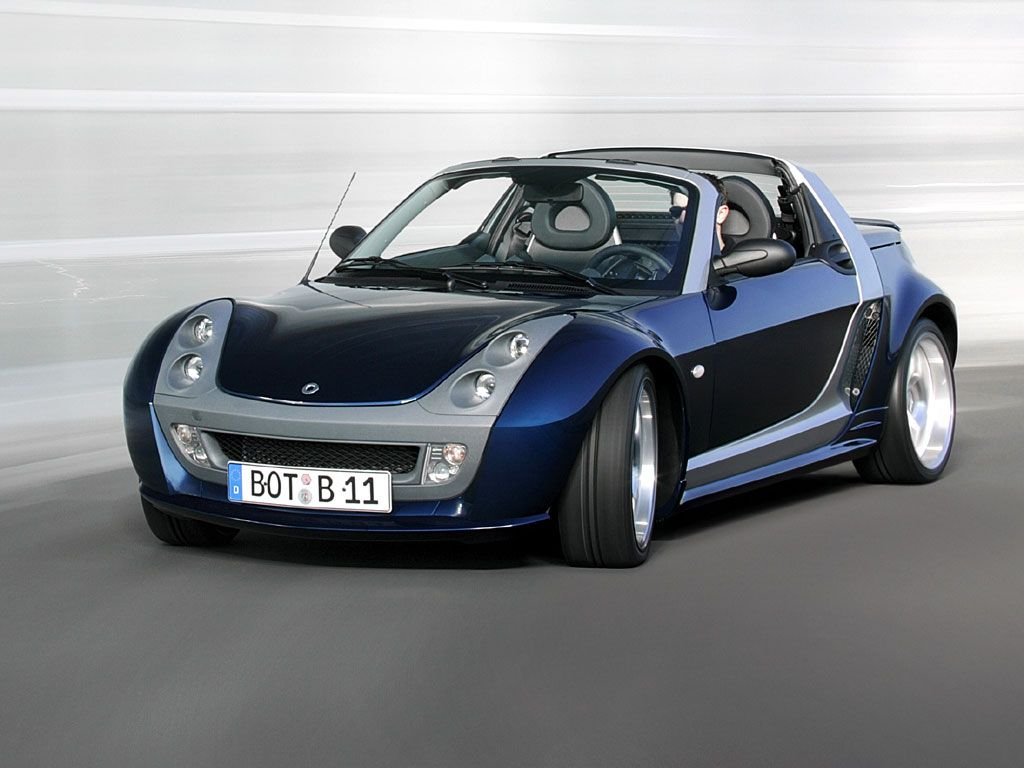 Smart roadster the one of my favor car