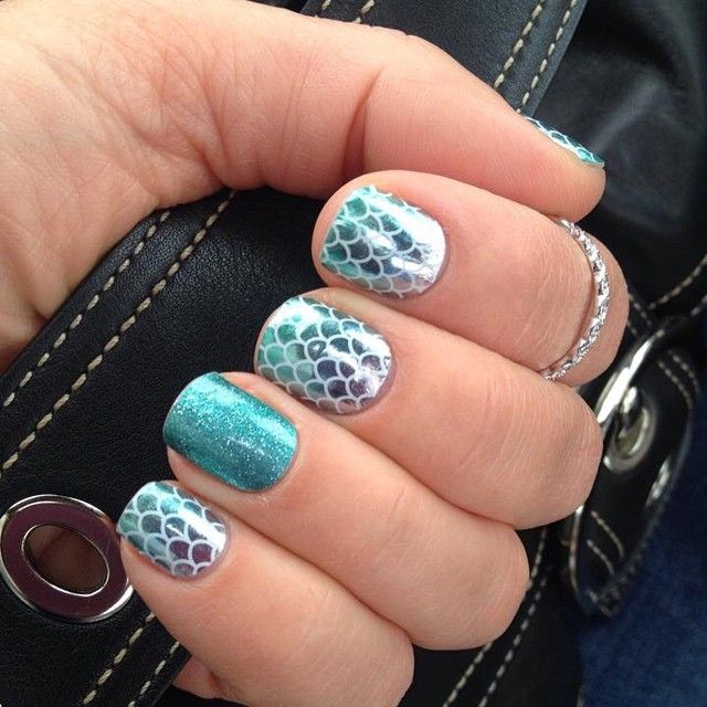 Mermaid Tales with Jaded accent.   Nails/hair/make-up   Pinterest ...
