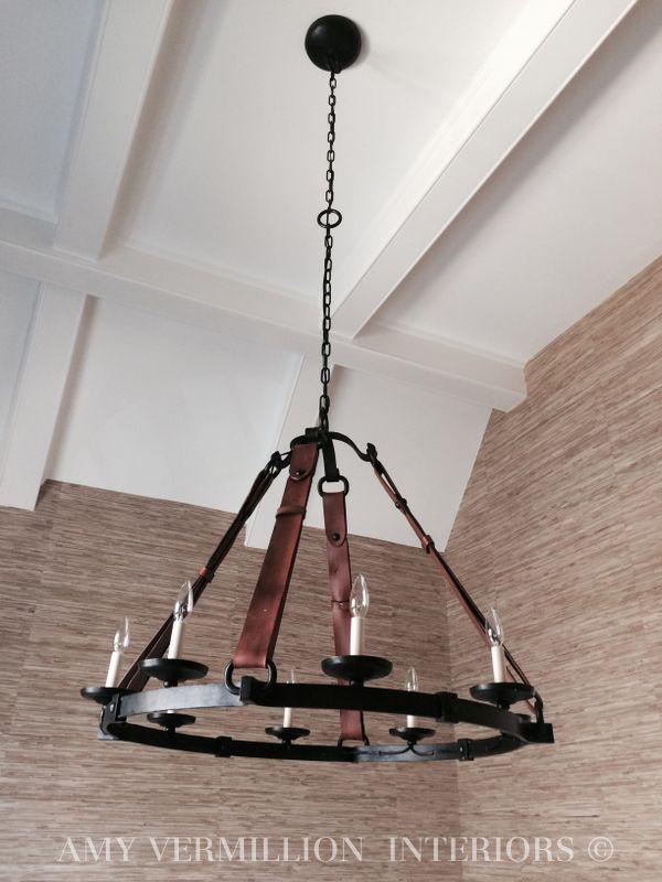 ralph lauren lighting fixtures. Amy Vermillion Interiors- Ralph Lauren Chandelier Lighting Fixtures R